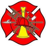 Sapeur-pompier Honor Badge illustration libre de droits