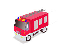 Sapeur-pompier Truck Images stock
