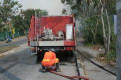 sapeurs-pompiers Photo stock