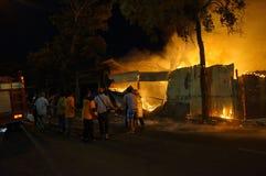 sapeurs-pompiers image stock