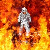 Sapeurs-pompiers allemands images stock
