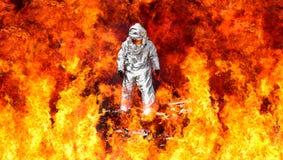 Sapeurs-pompiers allemands photographie stock libre de droits