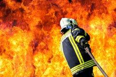 Sapeurs-pompiers allemands image stock