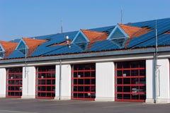 Sapeurs-pompiers allemands - caserne de pompiers en Bavière de Bayreuth photographie stock libre de droits