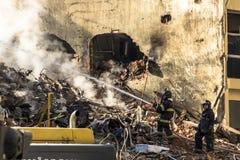 Sapeurs-pompiers brésiliens photos stock