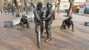 Sapeurs-pompiers de Seattle commémoratifs Photos stock
