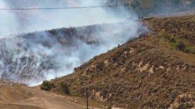 SAPEURS-POMPIERS du feu de forêt 1m banque de vidéos