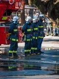 Sapeurs-pompiers japonais photographie stock