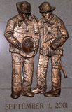 Sapeurs-pompiers tombés par FDNY commémoratifs à Brooklyn, NY Photographie stock libre de droits