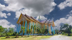 Saphan Leuxk, il punto di riferimento di Wat di buddismo, posti di bellezza archivi video