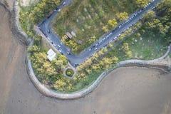 Saphan offentliga Hin parkerar med folk Royaltyfria Bilder