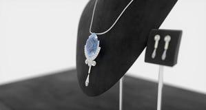 Saphire jewelry stock photos