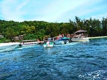 Sapi ö, Sabah Malaysia fotografering för bildbyråer