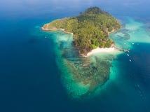 Sapi-Insel, Sabah stockbild