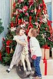 Sapin de Noël Image libre de droits
