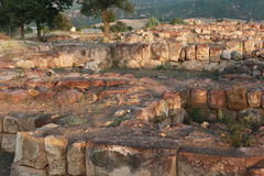 Sapinuwa är en huvudstad av Hittitetillståndet Royaltyfria Bilder