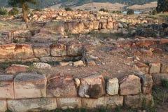 Sapinuwa är en huvudstad av Hittitetillståndet Arkivbild