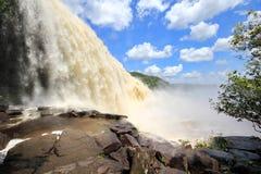 Sapo Falls, Venezuela stock photos