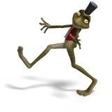 Sapo o rana lindo verde de Toon libre illustration
