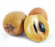 Sapodilla cut detail Stock Image