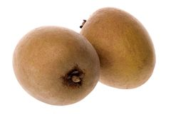 Sapodilla Fruit  Royalty Free Stock Images