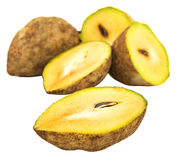 Sapodilla Fruits VII Stock Photo