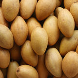 Sapodilla plum. To show for sell in market Stock Photography
