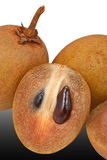 Sapodilla, tropical fruit Royalty Free Stock Photos