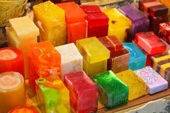 Sapone colorato Immagine Stock