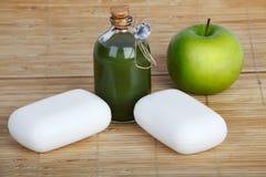 sapone della mela fotografia stock libera da diritti