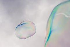 Sapone delle bolle fotografie stock