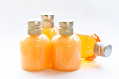 Sapone e bottiglia dello sciampo Immagine Stock Libera da Diritti