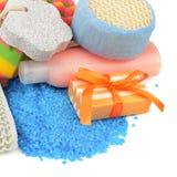 Sapone e igiene personale Fotografie Stock