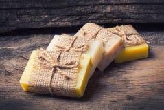 Sapone Handmade Immagini Stock Libere da Diritti
