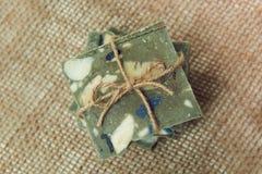 Sapone handmade naturale Immagine Stock