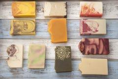 Sapone organico Handmade fotografie stock