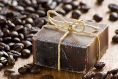 Sapone profumato del caffè immagini stock