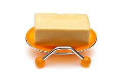 Sapone in sapone-piatto Fotografia Stock