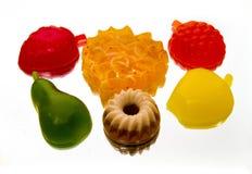 Sapone sotto forma di la torta, le bacche e la frutta Fotografia Stock