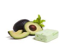 Saponetta dell'avocado Fotografia Stock Libera da Diritti