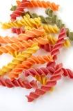 Sapori della pasta di Fusilli Fotografie Stock