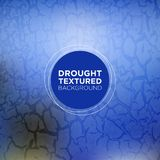 Sapphire Blue Grunge Background with Drought Texture. Perfect for use in different purposes like website, application,advertising,banners,presentation, wrapping Stock Photography