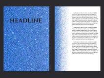 Sapphire Brochure Template Imagen de archivo
