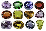 Sapphire Jewel Royalty Free Stock Images