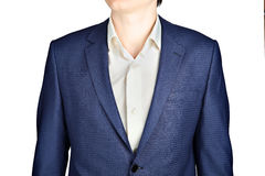 Sapphire for men suit jacket fine checkered. Stock Image