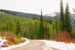 Sapphire Mountain Winter Immagine Stock Libera da Diritti