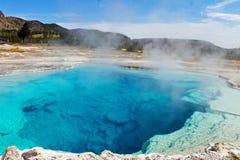 Sapphire Pool of Yellowstone Stock Photography