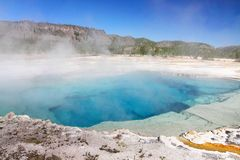 Sapphire Pool In Yellowstone Royalty Free Stock Photography