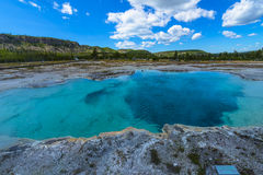 Sapphire Pool Yellowstone Royalty Free Stock Photography