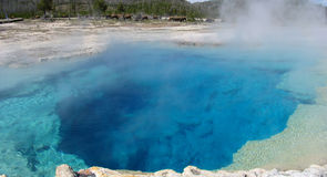 Sapphire Pool, Yellowstone National Park Stock Image